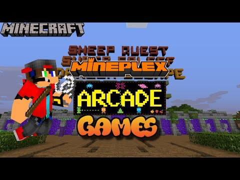Mineplex Arcade Games: Hacker Detected!! + Wacky Paintball
