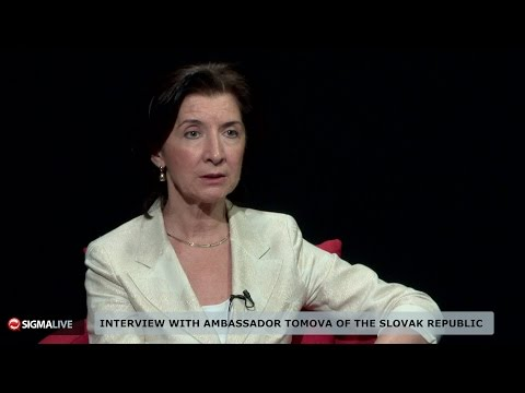 Interview with Ambassador Tomova of the Slovak Republic