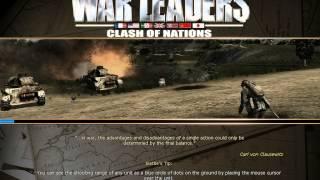 War Leaders Clash of Nations walkthrough part 1