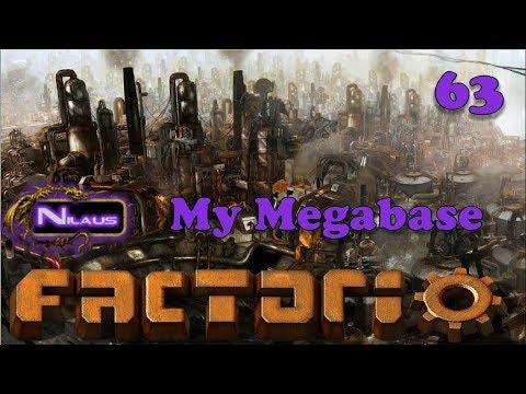 Factorio   My Megabase E63 - Closing PARK stations to increase throughput (RE-UPLOAD)