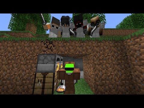 Download Minecraft Speedrunner VS 4 Hunters GRAND FINALE