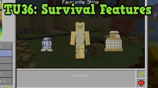 Minecraft Xbox 360 / PS3 - TU36 ALL Features For Survival
