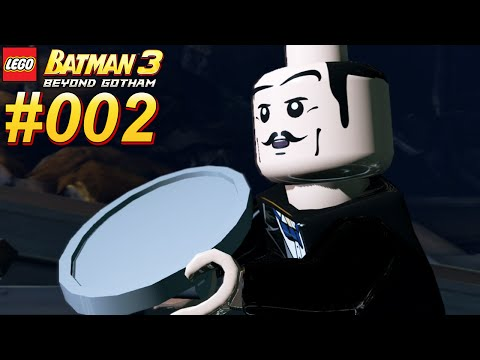 LEGO BATMAN 3 JENSEITS VON GOTHAM #002 Alfred Pennyworth ★ Let
