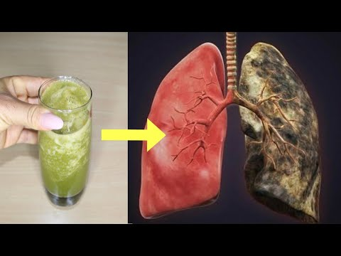 HOW TO DETOX SMOKERS LUNGS IN ONE DAY | JUST ONE GLASS AT BEDTIME