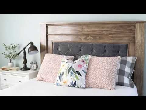 DIY Headboard Project w/Jennifer Voelkel of The Craft Patch | Arrow Fastener