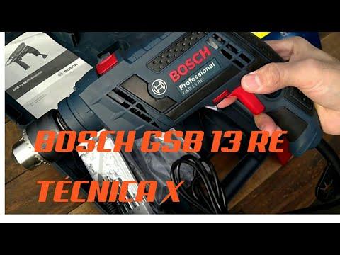 Taladro Percutor Bosch Gsb13re 650w 13mm