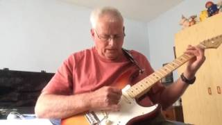 Kelly By Del Shannon, guitar instrumental cover.