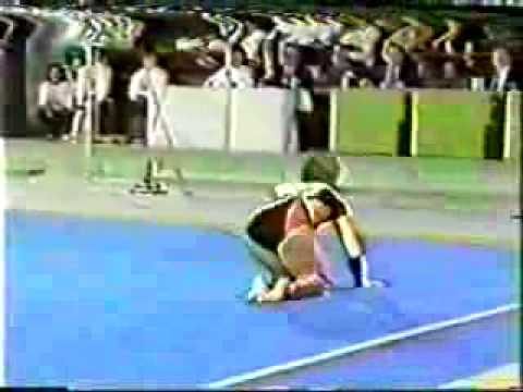 1983 Tokyo Cup gymnastics Mary Lou Retton floor exercise