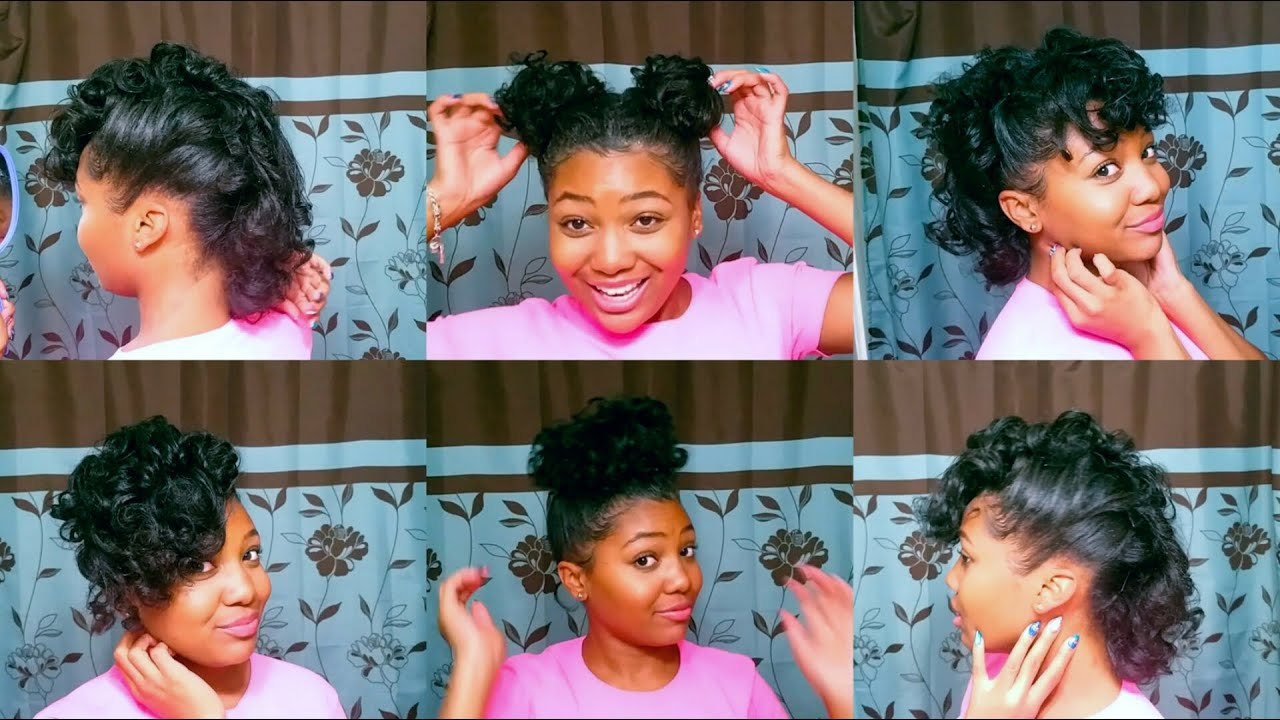 10 QUICK & EASY Hairstyles for RELAXED Hair!!
