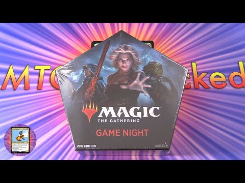 Magic: The Gathering - Game Night 2019 Unboxing