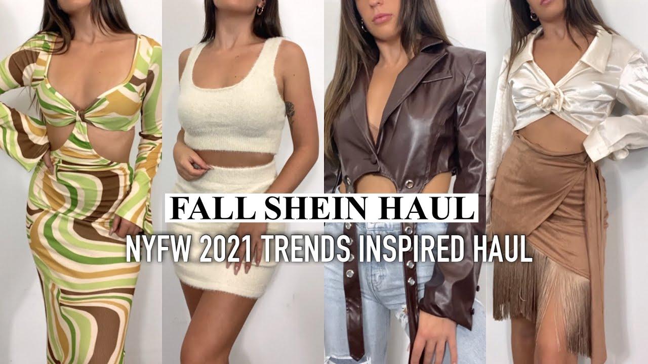 Huge Fall Shein Haul 2021 Trends    Shein Anniversary Sale Haul, Fall Shein Try On Haul 2021