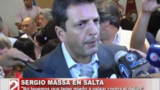 Sergio Massa En Salta-tv Dos Salta