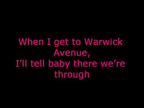 Duffy - Warwick Avenue + Lyrics