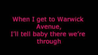 Duffy - Warwick Avenue + Lyrics