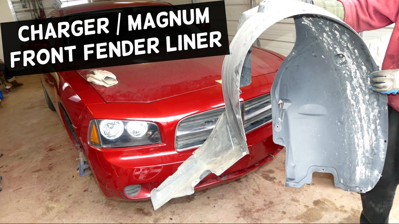 Pulling off the fender lining