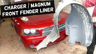 DODGE CHARGER FRONT FENDER LINER REMOVAL REPLACEMENT | DODGE MAGNUM