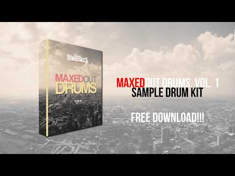 New | MaxedOut Drums, Vol. 1 | Drum Kit | 2018 | Free Download