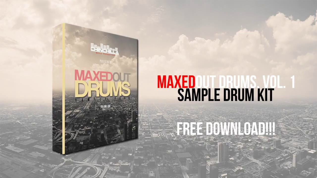 New | maxedout drums, vol. 1 | drum kit | 2018 | free download.