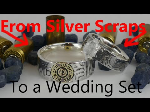 making-rings-from-junk-coin-silver