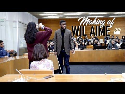 VLOG : Sur le tournage d'une vidéo de Wil Aime ! | ASHLEY