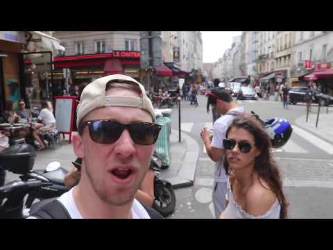 AMERICANS FIRST TIME IN PARIS, FRANCE!