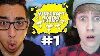 DIT IS ONGELOOFLIJK! (Minecraft Floating Islands #1)
