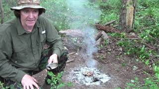 Solo Two Night Dispęrsed Camping Wayne National Forest Ohio