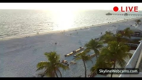 Live Webcam from Fort Myers Beach - Florida