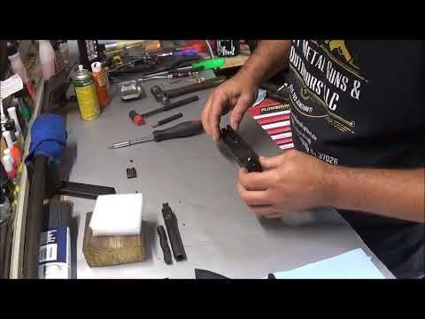 Remington RP45 Fiber Optic Sight Install