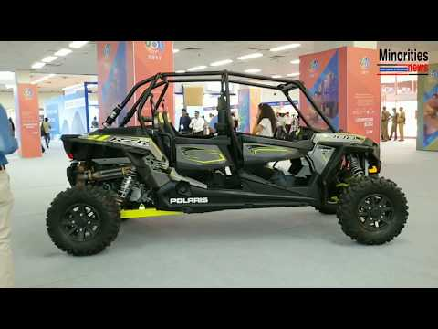 See Polaris Off Road Vehicles | India International Security Expo