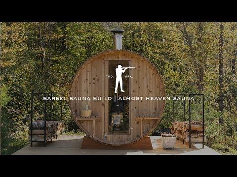 Barrel Sauna Build | Almost Heaven Sauna