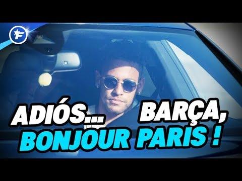 Neymar a fait ses adieux au Barça | Revue de presse