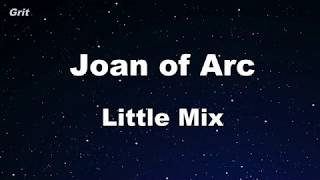 Joan of Arc - Little Mix Karaoke 【With Guide Melody】 Instrumental