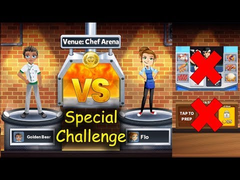 Can I Win Without CHOPPER JOE's Prepped Ingredient And VIPs??? (Restaurant Dash With Gordon Ramsay)
