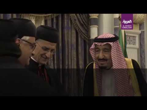 Saudi King Salman receives Maronite Patriarch Bechara Boutros al-Rahi
