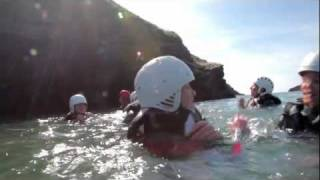 Coasteering locations in Cornwall