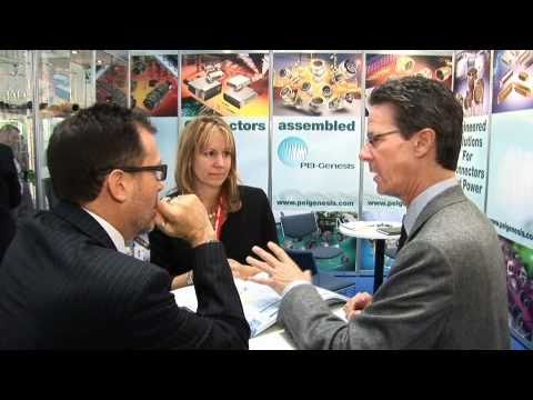 PEI-Genesis interview with Electronics Sourcing at Electronica 2010