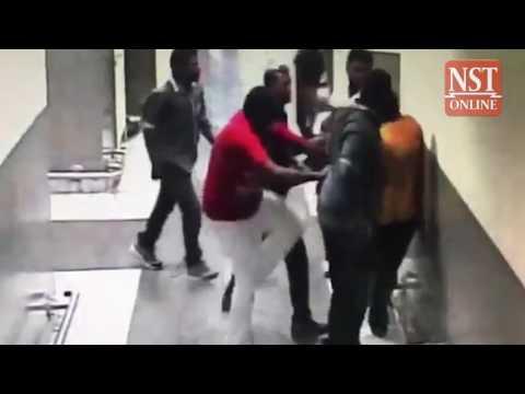 Sri Lankan envoy to Malaysia kicked, punched at KLIA