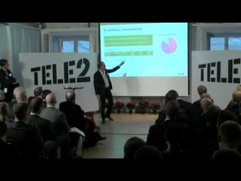 Tele2 Capital Markets Day 2012 Market Area Nordic