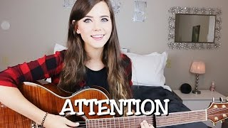 Video Attention - Charlie Puth (Live Acoustic Cover) Tiffany Alvord download MP3, 3GP, MP4, WEBM, AVI, FLV Juli 2018