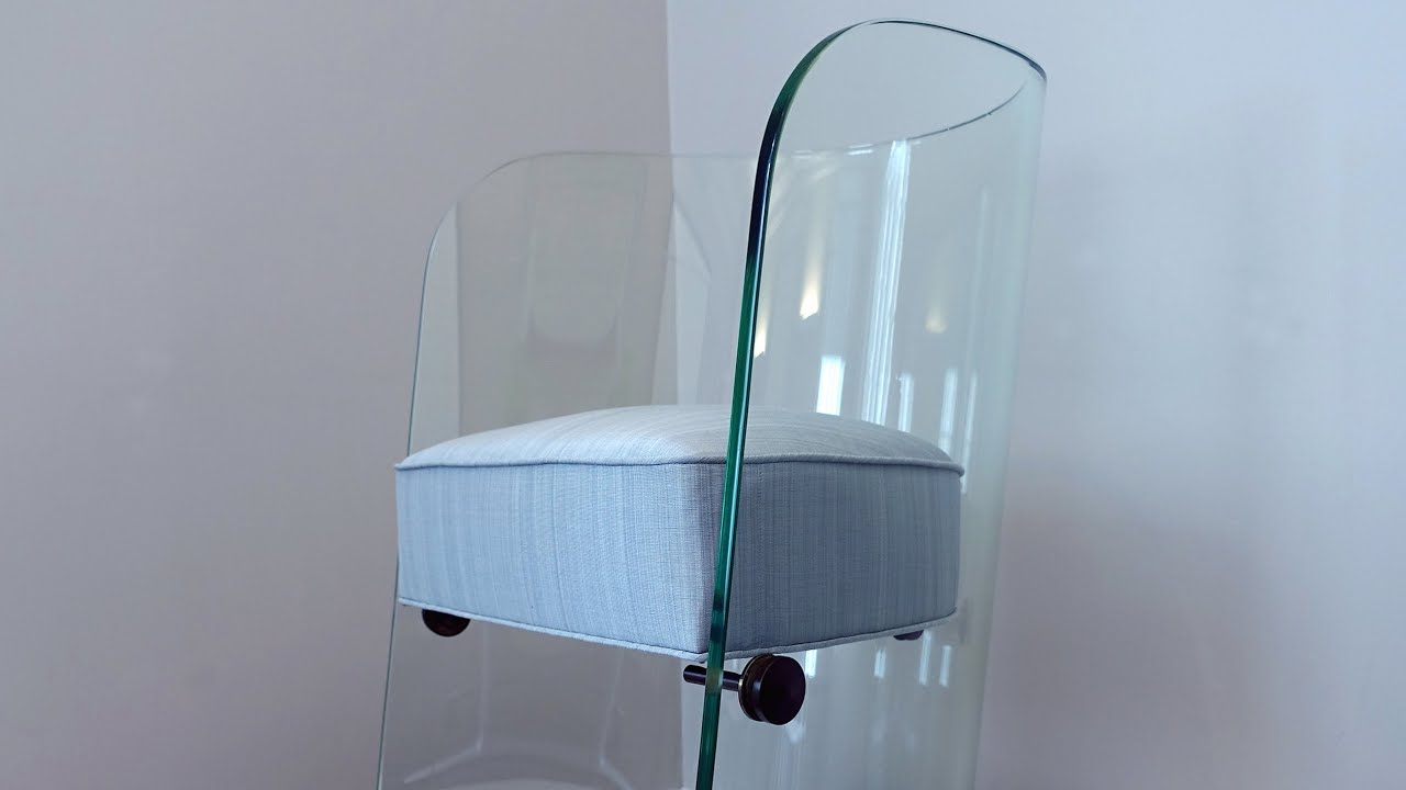 Superbe Glass Chair At The 1939 New York Worldu0027s Fair   YouTube