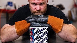 Ace a NASCAR Welding Test - TIG Welding an Aluminum Cube