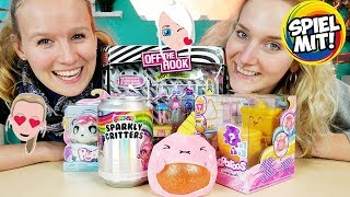 5 NEUE MÄDCHEN SPIELZEUGE -Poopsie Sparkly Critters, Pooparoos Klo Surprise, Splishies, Off the Hook