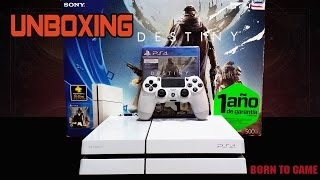 PlayStation 4 destiny bundle | Unboxing en Español Thumbnail