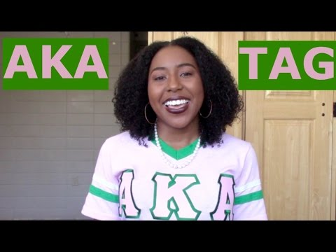 AKA TAG | Alpha Kappa Alpha Sorority, Inc. 💕💚 + ADVICE!!