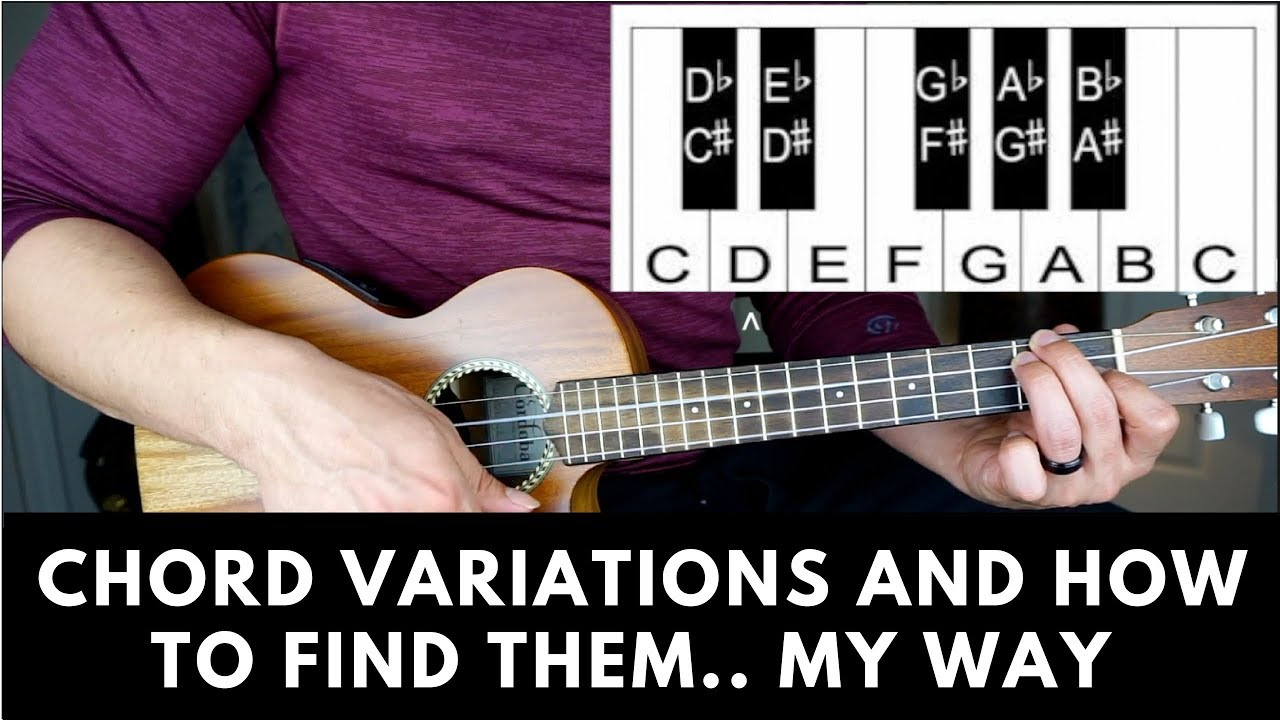How To Find Chord Variationsposition For Ukulele Anthony James