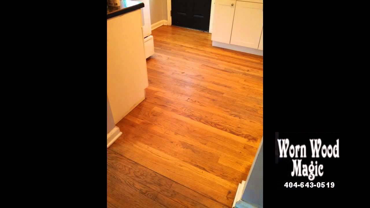 Marietta Hardwood Floor Refinishing Sandless
