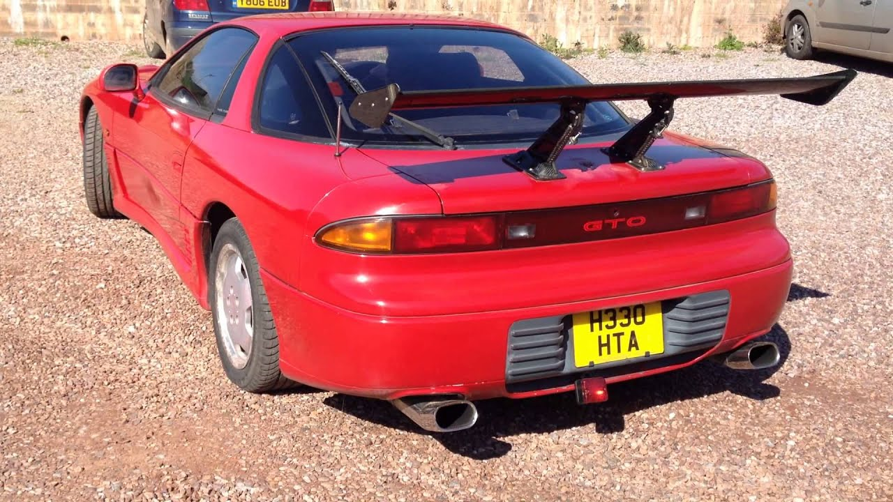 Twin Turbo Mitsubishi Gto >> Mitsubishi GTO 3000 Twin Turbo 320 bhp - YouTube