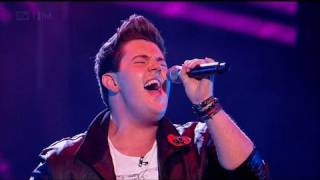 Craig Colton is in Heaven - The X Factor 2011 Live Show 5 - itv.com/xfactor