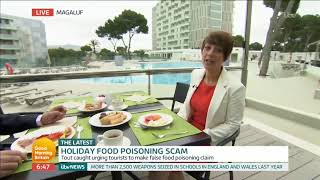 Brits Could Be Banned From Package Holidays Following Food Poisoning Scams | Good Morning Britain